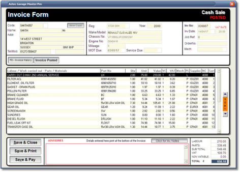 Garage Software Aztec Garage Management Software Developers